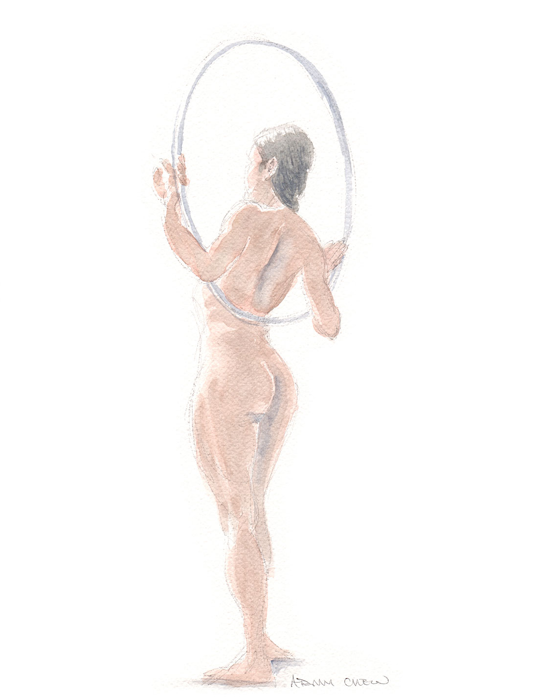 woman hula hoop 2013 - Adam Chew