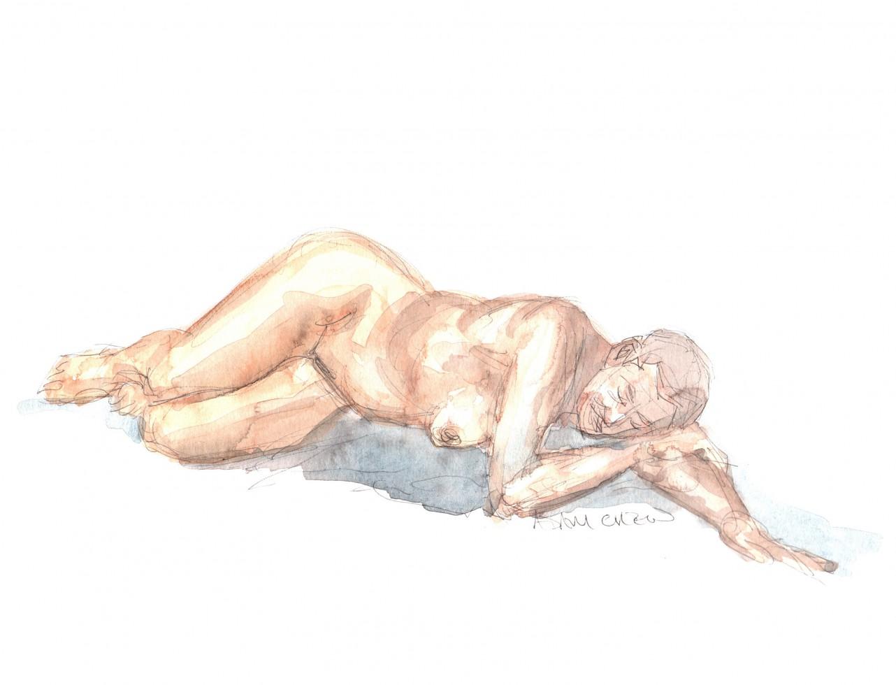 More laying Around - Adam Chew, 2014