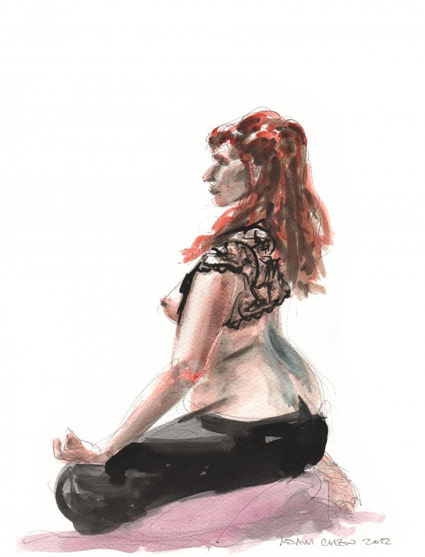 """""""meditation in lace"""" - Adam Chew"""
